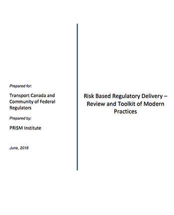 Risk Based Regulatory Delivery Report